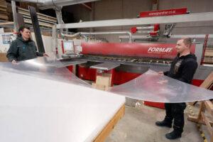 acrylic sheets ready to cut