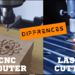 Difference Between CNC Router and Laser Cutter